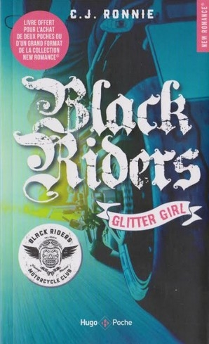 Couverture Black riders, tome 1 : Glitter girl