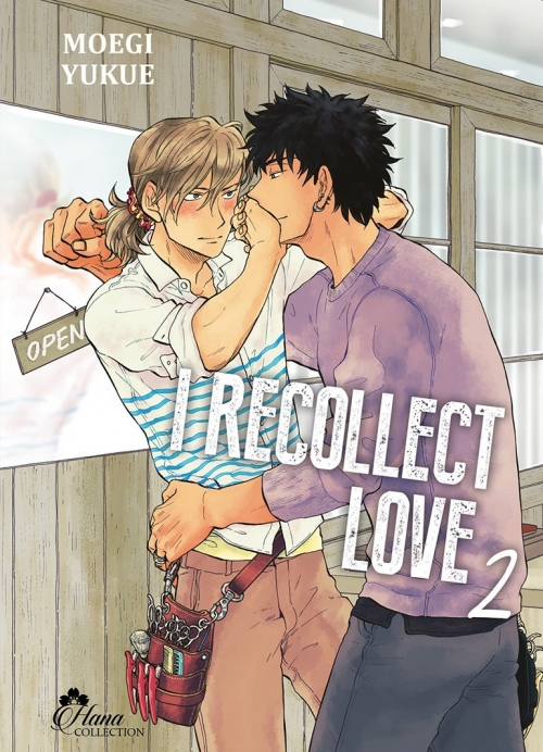Couverture I recollect love, tome 2