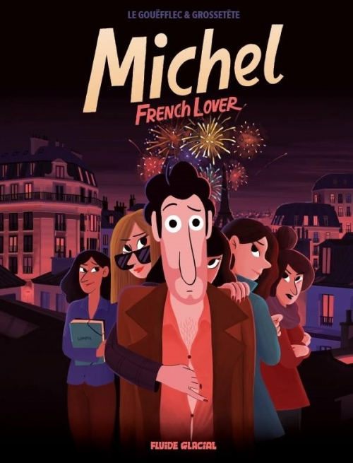 Couverture Michel : French lover