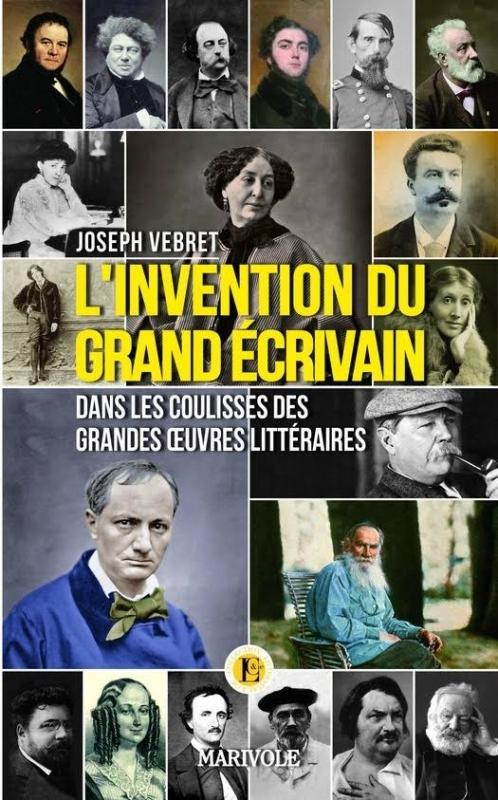 Couverture L'invention du grand écrivain