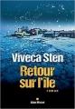 Couverture Retour sur l'île Editions Albin Michel (Spécial policier) 2018