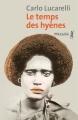 Couverture Le temps des hyènes Editions Métailié 2018
