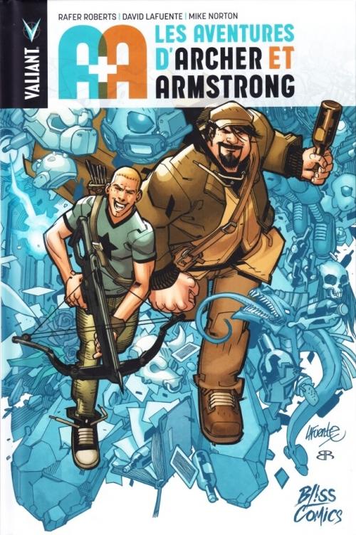 Couverture A+A : Les aventures d'Archer et Armstrong