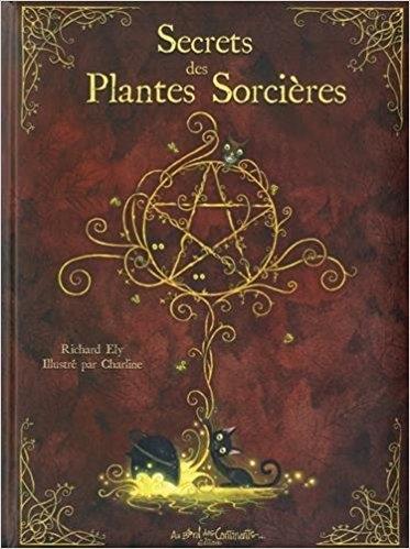 Couverture Secrets des plantes sorcières