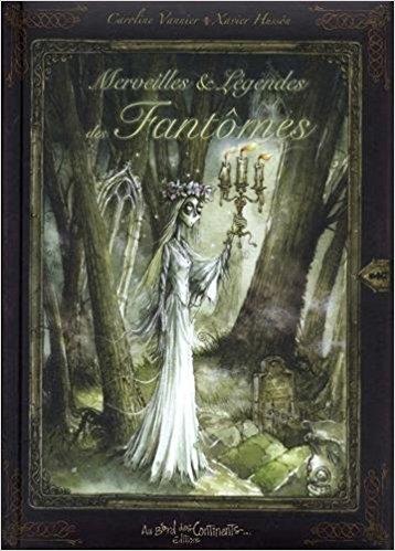Couverture Merveilles & légendes des fantômes