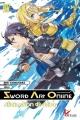 Couverture Sword art online (roman), tome 7 : Alicization dividing Editions Ofelbe 2018