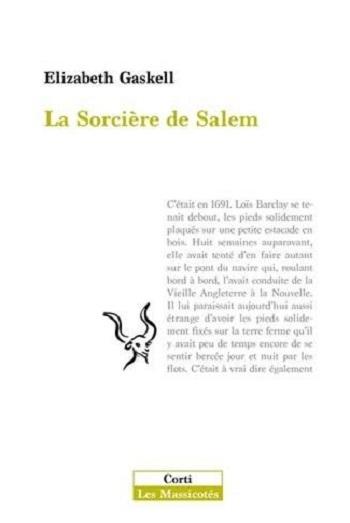Couverture La sorcière de Salem