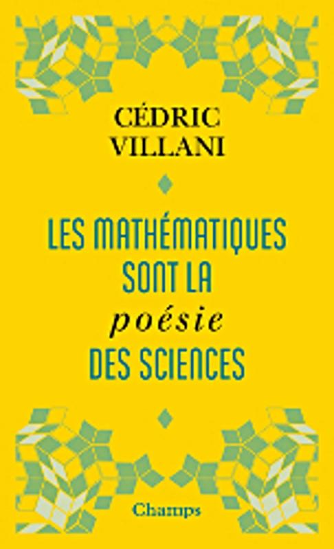 Couverture Les mathématiques sont la poésie des sciences