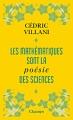 Couverture Les mathématiques sont la poésie des sciences Editions Flammarion (Champs) 2018
