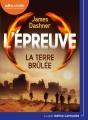 Couverture L'épreuve, tome 2 : La terre brûlée Editions Audiolib 2017