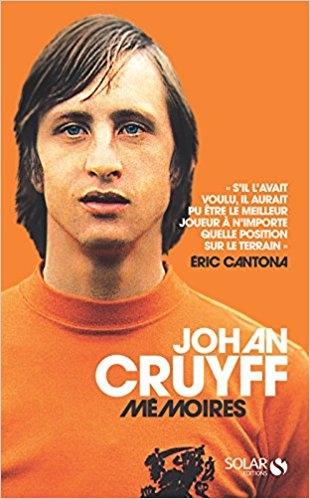 Couverture Johan Cruyff : Mémoires