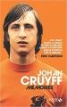 Couverture Johan Cruyff : Mémoires Editions Solar 2018