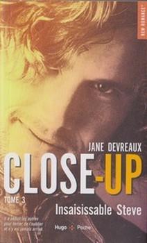 Couverture Close-up, tome 3 : Insaisissable Steve
