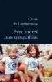 Couverture Avec toutes mes sympathies Editions Stock (La Bleue) 2018