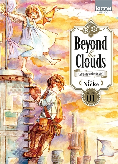 Couverture Beyond the clouds : La fillette tombée du ciel, tome 1
