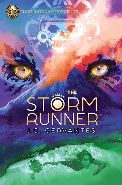 Couverture The Storm Runner