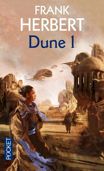 Couverture Le Cycle de Dune (7 tomes), tome 1 : Dune, partie 1