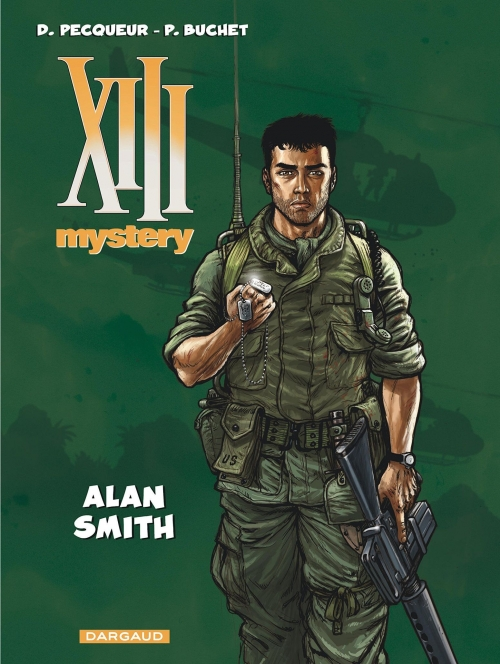 Couverture XIII mystery, tome 12 : Alan Smith