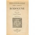 Couverture Rodogune Editions Droz 1946