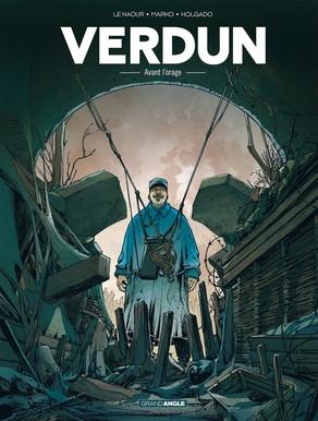 Couverture Verdun, tome 1 : Avant l'orage
