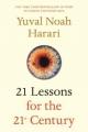 Couverture 21 leçons pour le XXIe siecle Editions Spiegel & Grau 2018