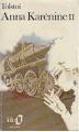 Couverture Anna Karénine, tome 2 Editions Folio  1987