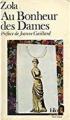 Couverture Au bonheur des dames Editions Folio  1987