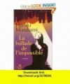 Couverture La ballade de l'impossible Editions Belfond 2007