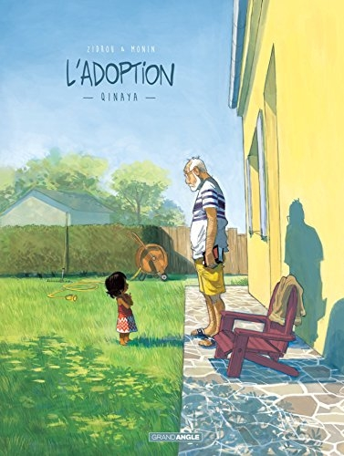 Couverture L'Adoption, tome 1 : Qinaya