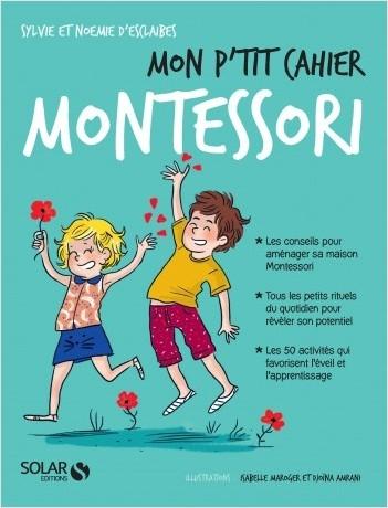 Couverture Mon p'tit cahier : Montessori