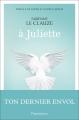 Couverture A Juliette Editions Flammarion 2018