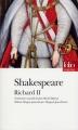 Couverture Richard II Editions Folio  (Théâtre) 2013