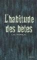 Couverture L'habitude des bêtes Editions Delcourt 2018