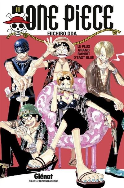 Couverture One Piece, tome 11 : Le pire brigand de tout East-Blue