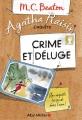 Couverture Agatha Raisin enquête, tome 12 : Crime et déluge Editions Albin Michel 2018