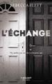 Couverture L'échange Editions Robert Laffont 2018