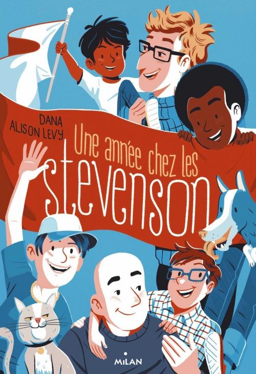 Couverture Une année chez les Stevenson