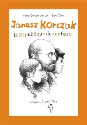 Couverture Janusz Korczak : La République des enfants