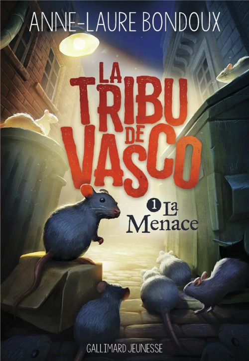 Couverture La Tribu de Vasco, tome 1 : La Menace