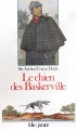 Couverture Sherlock Holmes, tome 5 : Le Chien des Baskerville Editions Folio  (Junior) 1988