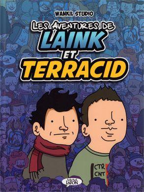 Couverture Les aventures de Laink et Terracid, tome 1