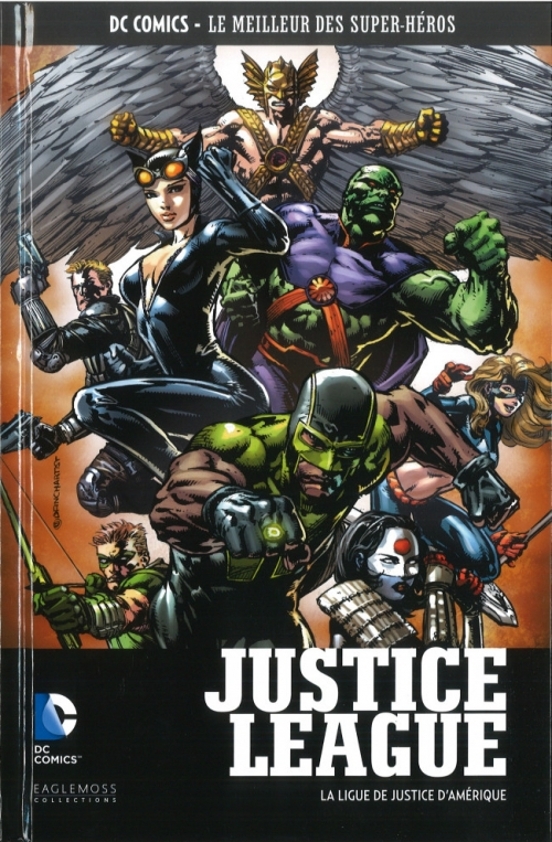 Couverture Justice League (Renaissance), tome 04 : La Ligue de Justice d'Amérique