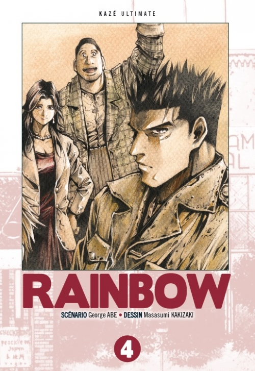 Couverture Rainbow, triple, tome 4
