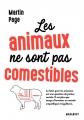 Couverture Les animaux ne sont pas comestibles Editions Marabout 2017