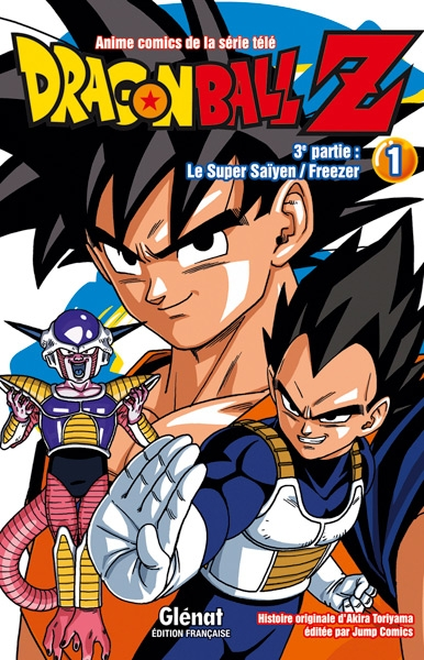 Couverture Dragon Ball Z (anime) : Le Super saïyen, Freezer, tome 1