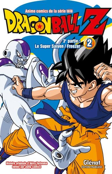 Couverture Dragon Ball Z (anime) : Le Super saïyen, Freezer, tome 2