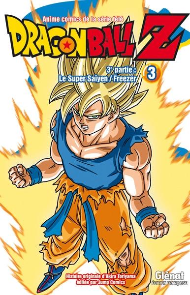 Couverture Dragon Ball Z (anime) : Le Super saïyen, Freezer, tome 3