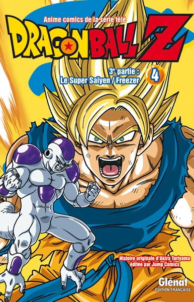 Couverture Dragon Ball Z (anime) : Le Super saïyen, Freezer, tome 4