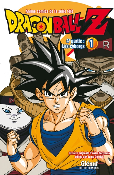 Couverture Dragon Ball Z (anime) : Les cyborgs, tome 1
