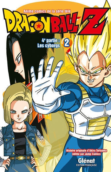Couverture Dragon Ball Z (anime) : Les cyborgs, tome 2